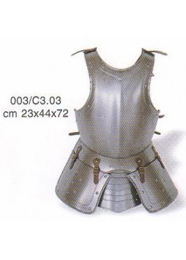 Breastplate with side-pieces, XV century