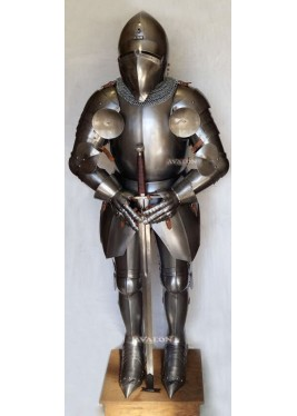 Medieval Knight Armour - battle-ready