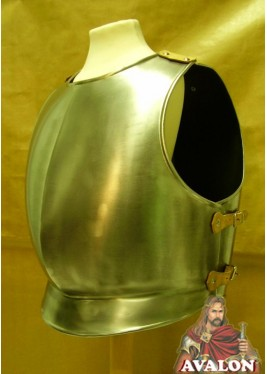 Breastplate for steel armor