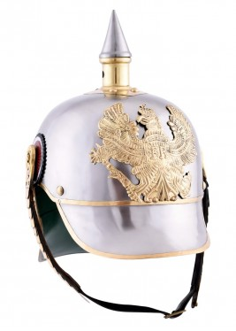 Prussian helmet in steel