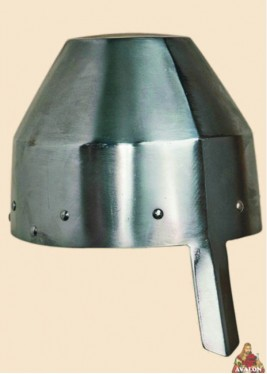 kettle hat with nasal