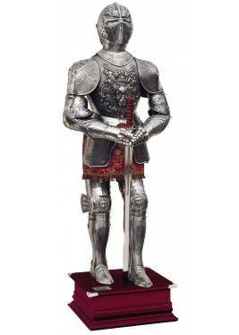 Embossed Carlos V Suit of Armor - Marto