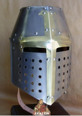 Helmet Templar Crusader - Wearable Costume Armor