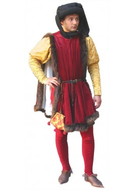 Dress nobleman of the fifteenth century.