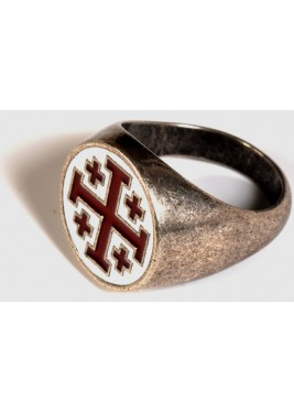 Ring of Jerusalem Cross of Jerusalem