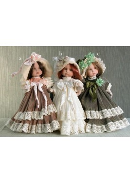 Porcelain Doll Mariella - Height 25 cm