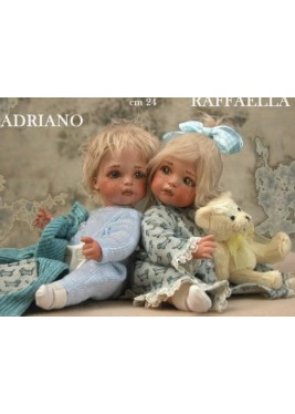 Porcelan Dolls: Adriano and Raffaella