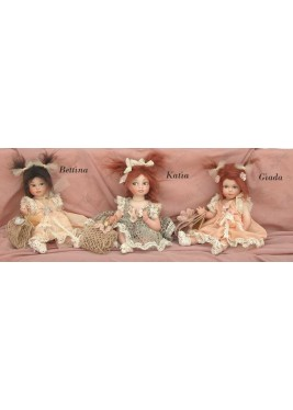 Porcelain Dolls: Bettina Katia Jade, Size: 24 cm