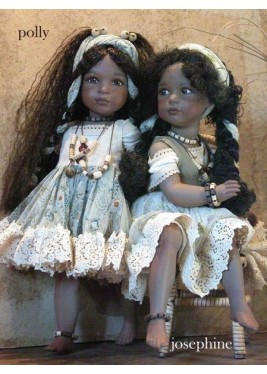 Dolls Polly and Josephine