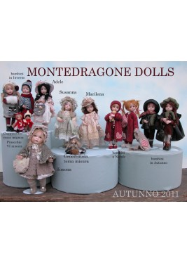 News Autumn, Porcelain Dolls, Dimensions: 29 cm
