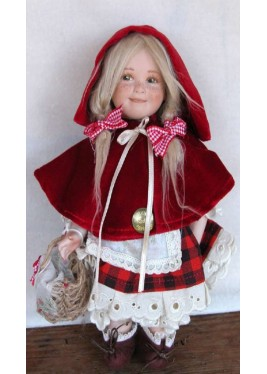 Little Red Riding Hood - Dolls porcelain fairy tales