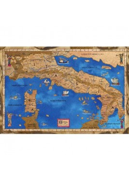 Medieval Map of Italy
