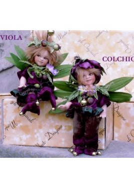 Colchicum and Violet