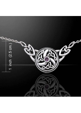 Necklace with Celtic knot