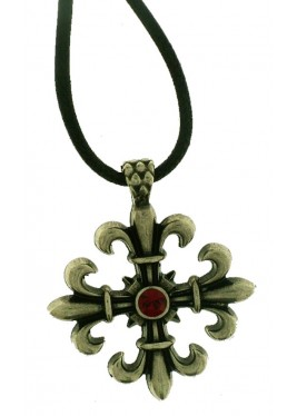 Celtic cross pendant metal