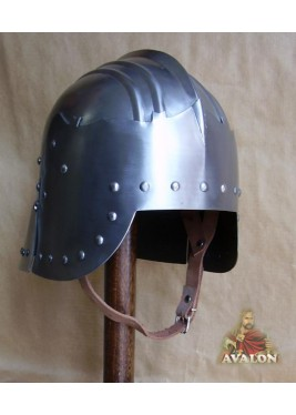 Medieval Helmet Italian, Wearable Costume Armor