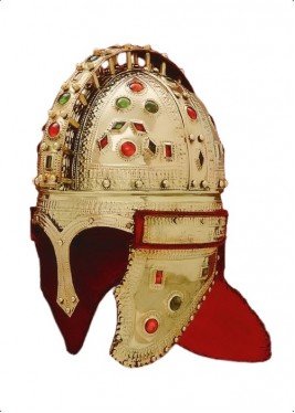 Late Roman Officer Jewel - Roman Helmet Berkasovo