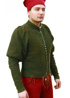 Doublet with buttons of 1400