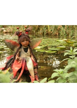 Fairy Pond Porcelain Fairy Doll 14.2 in, Porcelain Fairy Dolls
