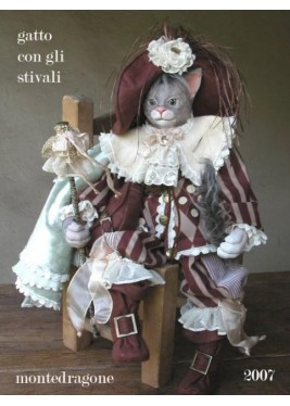 Puss in Boots - Dolls porcelain fairy tales