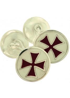Templar Cross cufflinks