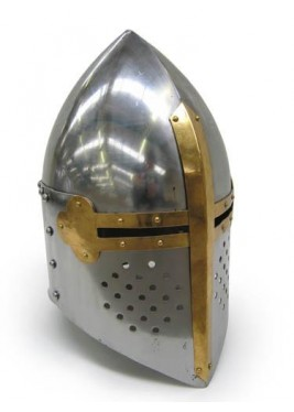 Templar Helmet - Wearable Costume Armor