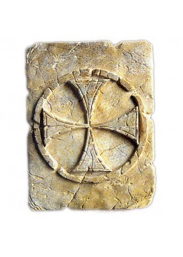 Tile with Templar Cross