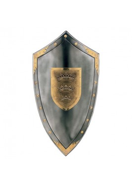 Shield pinned Arthur
