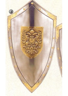 Imperial shield pinned