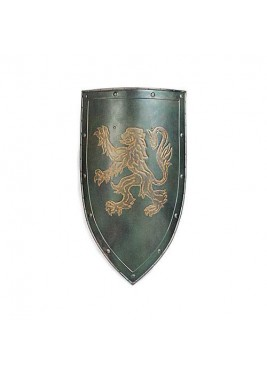Lion Crest Shield
