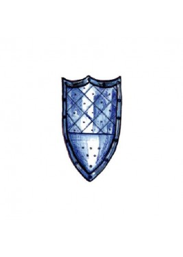 Medieval shield three-point