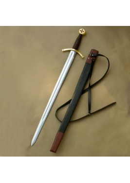 Templar Sword with scabbard