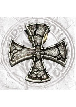 Templar Cross Brooch Jacket