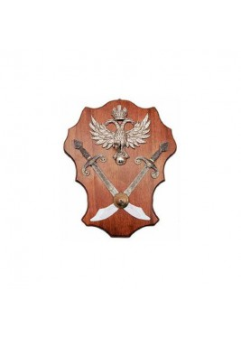Medieval Panel Trophy Eagle And scimitars