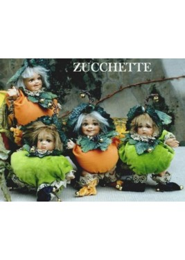 Gourds - porcelain dolls